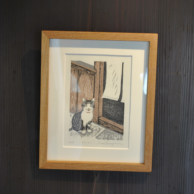 ひらやまなみ木版画展