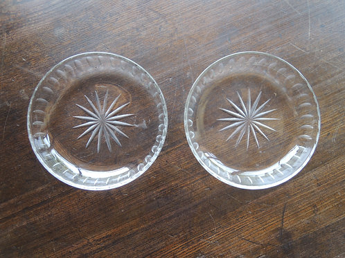 切子ガラス皿