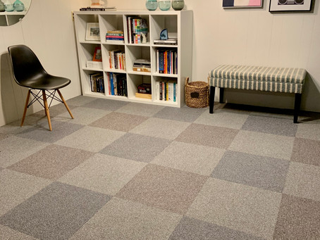 Getting Creative with Carpet Tile!