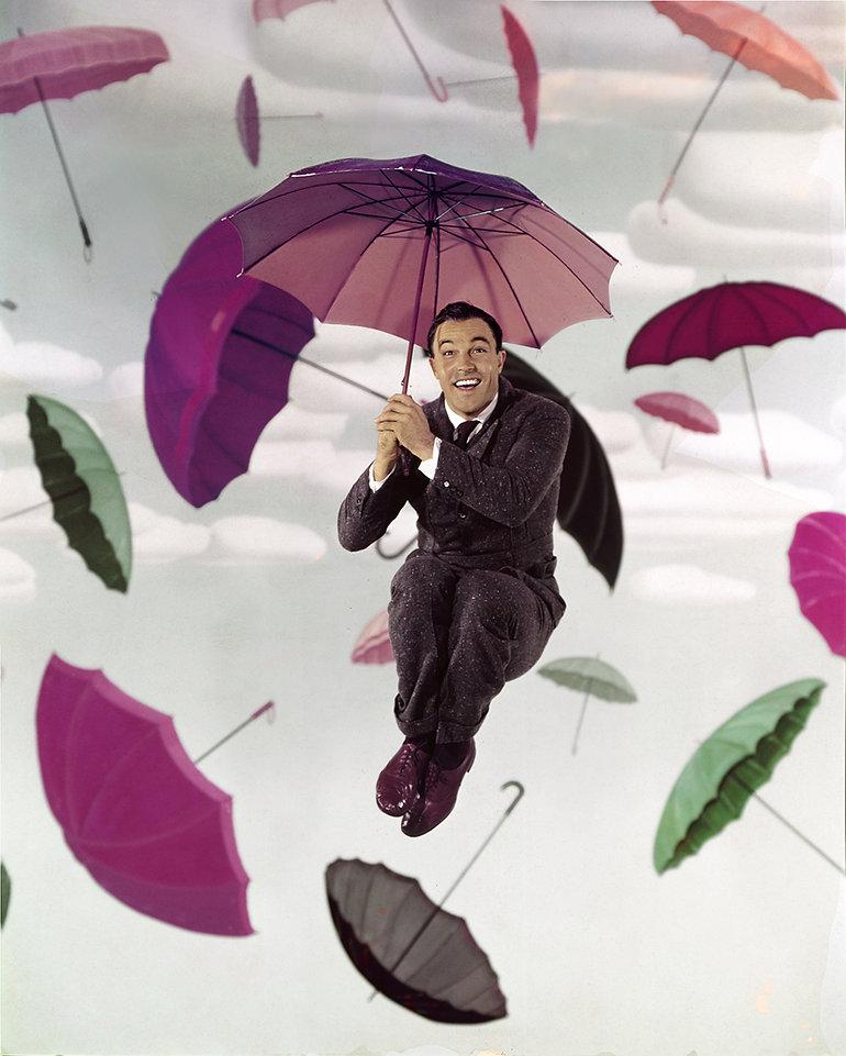 Kelly Singin in the Rain Vintage Transpa