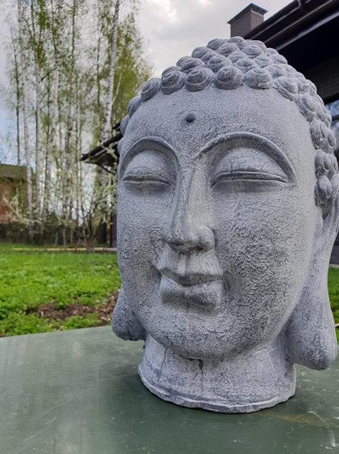 Фигурка Голова Будды индийская керамика