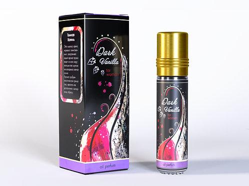 """Масляные духи """"Темная ваниль"""" ( роза- ваниль), женские, 10 мл"""