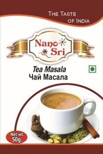 Чай Масала Нано Сри (Masala tea) специи 50 гр