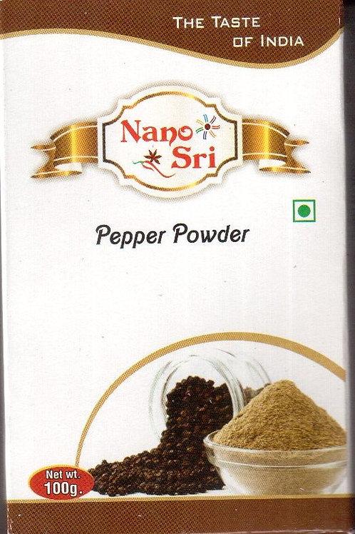 Специя Перец черный молотый Nano Sri 100 г