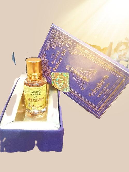 Масляные духи Наг Чампа Чакра (Nag Champa Chakra. Natural Perfume Oil), 10 мл