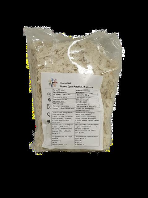 Рисовые хлопья Поха (Rice flakes Poha, Nano Sri),
