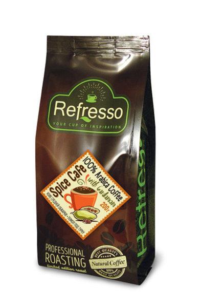 Кофе Refresso Spice Cafe с кардамоном молотый, 200 гр
