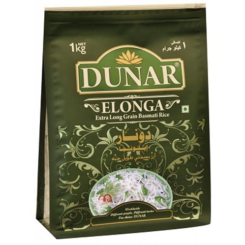 Рис Басмати Элонга Дунар (Elonga Dunar), 1000 гр