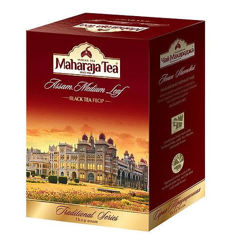 Чай Махараджа Ассам средний лист (Assam Medium Leaf ) чёрный 100 или 250 гр