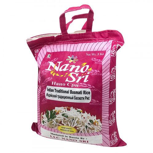 Рис Басмати Традиционный Nano Sri, 1 или 5 кг