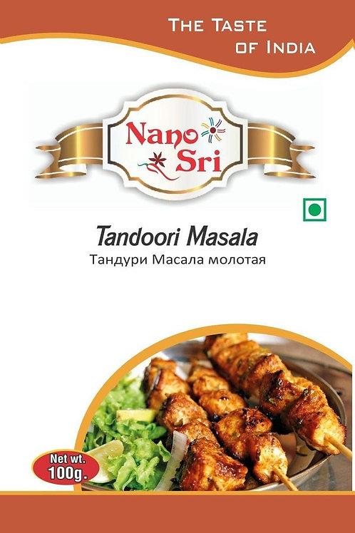 Специи Тандури масала для мяса и курицы Nano Sri 100гр