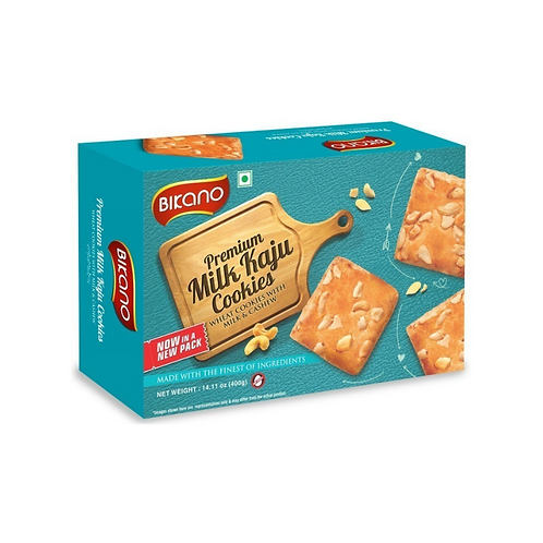 Печенье молочное с кешью Milk Kaju, Bikano 400 гр
