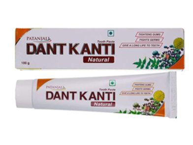 Зубна паста Дант Канти Натурал Патанджали (Dant Kanti Patanjali), 100 гр