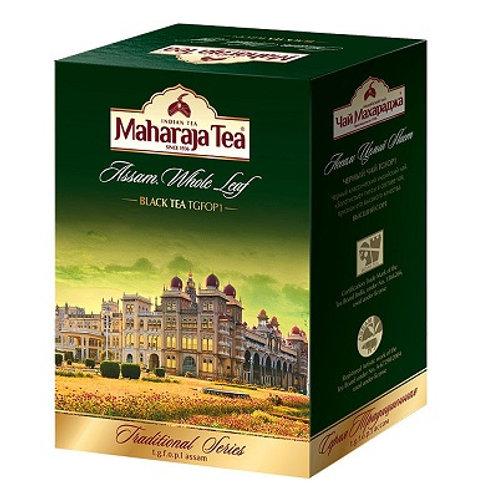 Чай Махараджа Ассам цельнолистовой чёрный, Maharaja Tea Whole Leaf, 100 гр