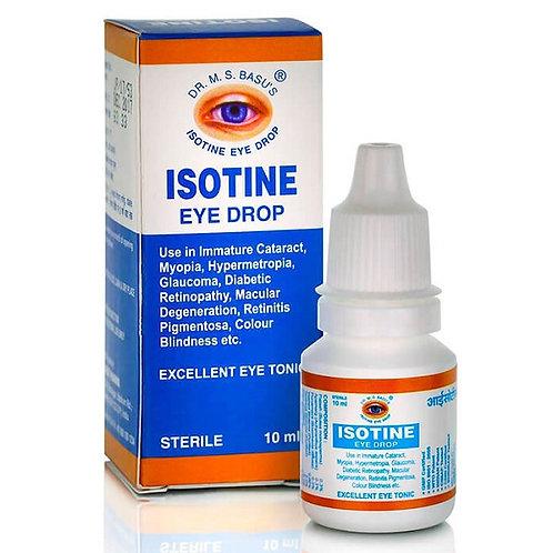 Капли для глаз Айсотин (Isotin), 10 мл