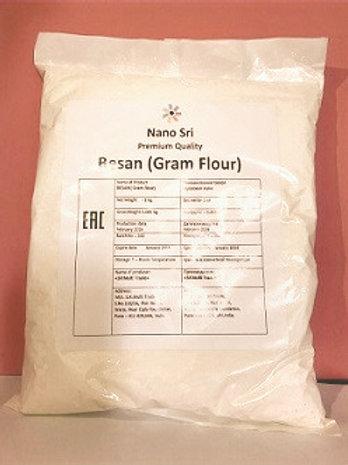 Нутовая мука Безан (Besan Gram Flour), Nano Sri 1000 гр
