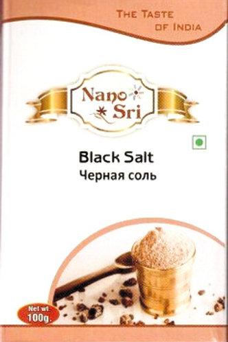 Черная соль индийская Nano Sri 100 г