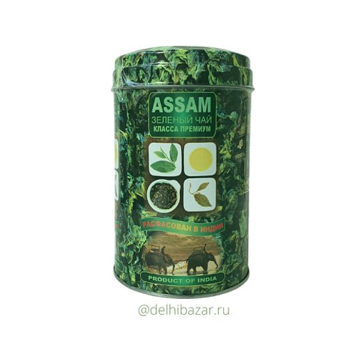 "Чай ""Амитава"" индийский зелёный ""Молочный оолонг"" сорта Ассам, 200 гр"