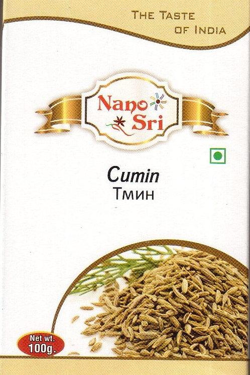 Специя Кумин семена (Зира) Nano Sri 100 г