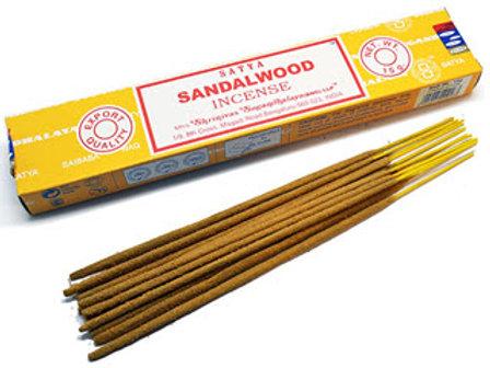 Благовония Сатья с ароматом сандалового дерева