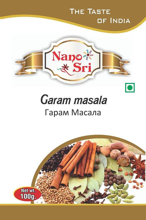 Специи Гарам масала Nano Sri, 100гр