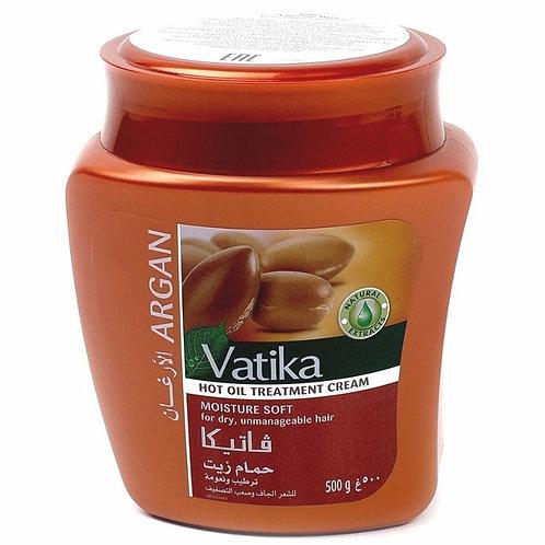 Маска для волос Ватика Арган для увлажнения волос (Vatika Argan), 500 мл