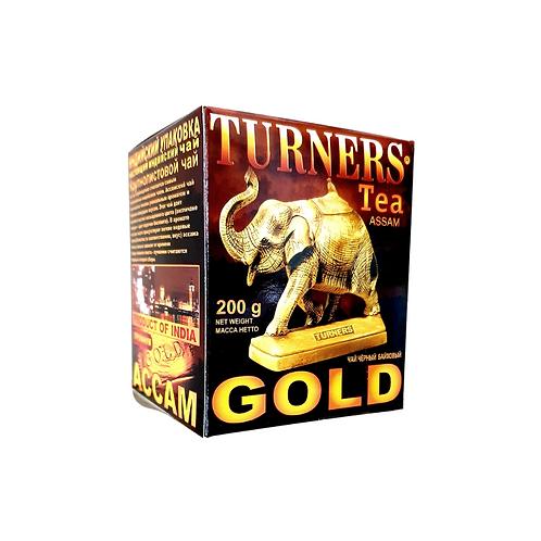 "Чай ""Тёрнерс Голд"" (Turners Gold.) индийский чёрный байховый Ассам, 2"