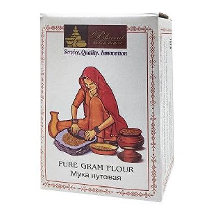Нутовая мука Бхарат Базар (Gram Flour), Bharat Bazaar 1000 гр