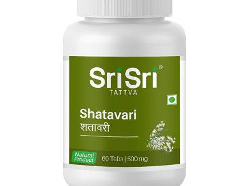 Шатавари Шри Шри (Shatavari Sri Sri), 60 таблеток по 500 мг