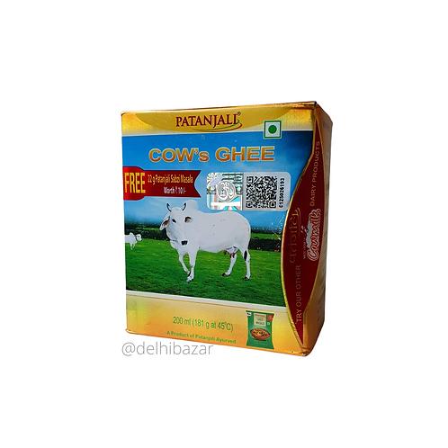 Масло ГХИ Патанджали( Cow Ghee Patanjali), 200мл