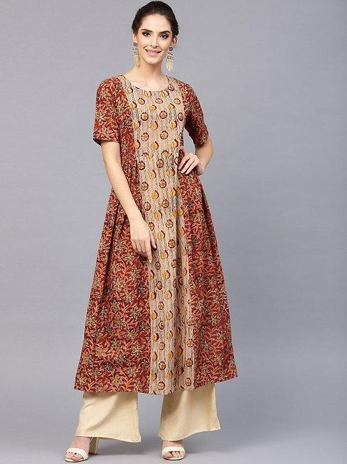 Платье с цветочным принтом, S