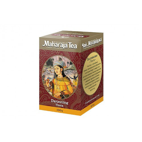 Чай Махараджа Дарджилинг Тиста (Maharaja Tea), плантационный, 100 или 200 гр