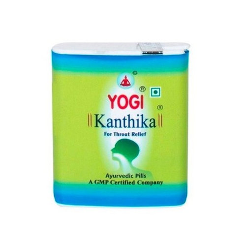 Йоги Кантика (Yogi Kanthika) при болях в горле 70 или 140шт