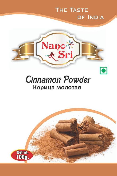 Специя Корица молотая (Cinnamon powder) Nano Sri 100 гр