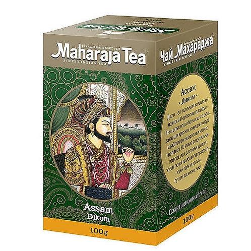 Чай Махараджа Ассам Диком (Assam Dikom) чёрный байховый, 100 или 200 гр.