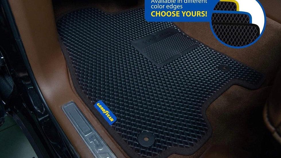 Custom Floor Mats Dodge Ram 2019-2021 Crew Cab
