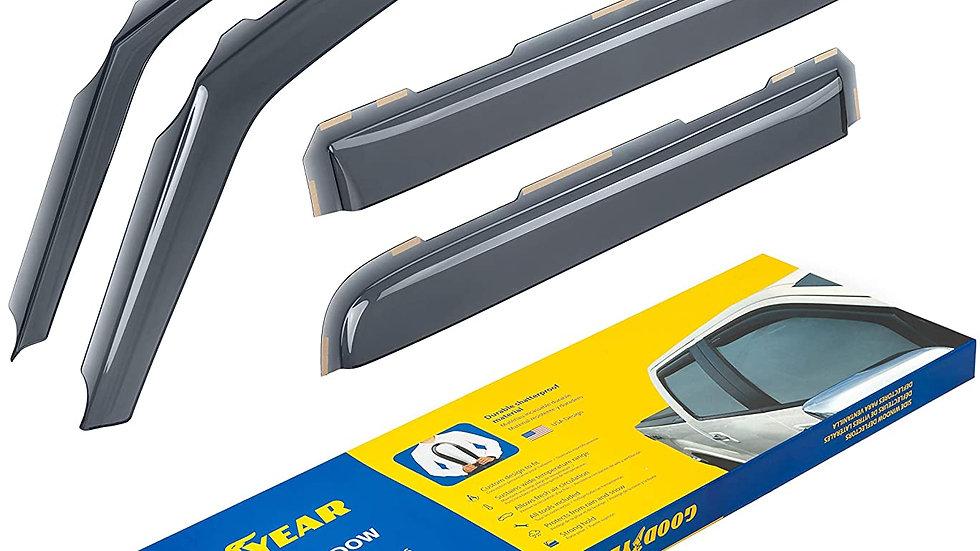 Goodye in-Channel Window Deflectors for Ford F-150 2009-2014 Supecrew