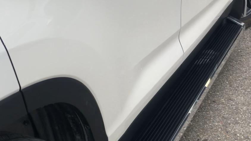 Running boards Toyota Highlander 2014-2018