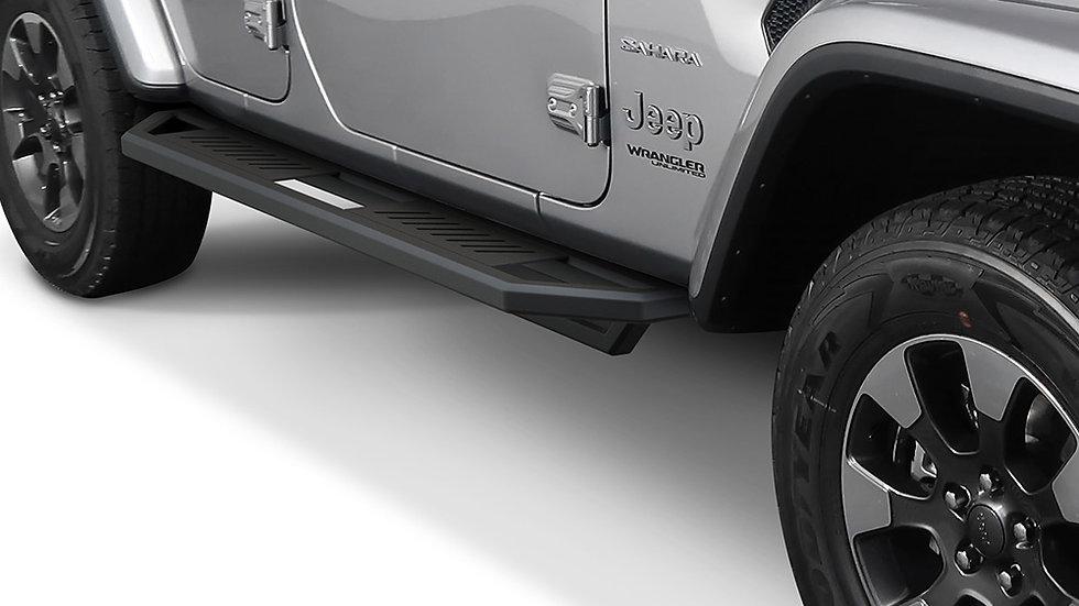 Truck Armor side steps 2018-2021 Jeep Wrangler JL 4Dr