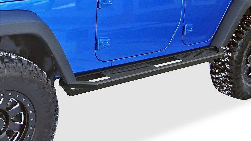 Truck Armor side steps 2007-2018 Jeep Wrangler JK 4Dr