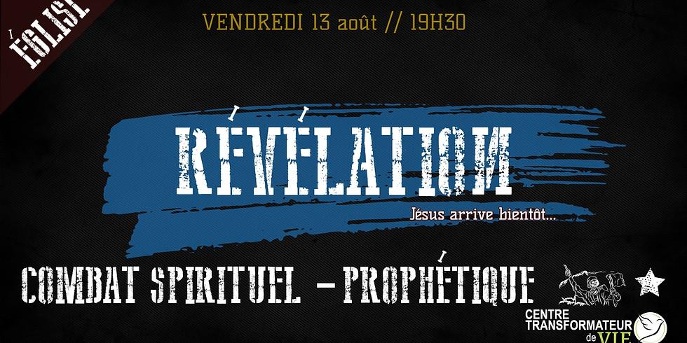 COMBAT SPIRITUEL PROPHÉTIQUE