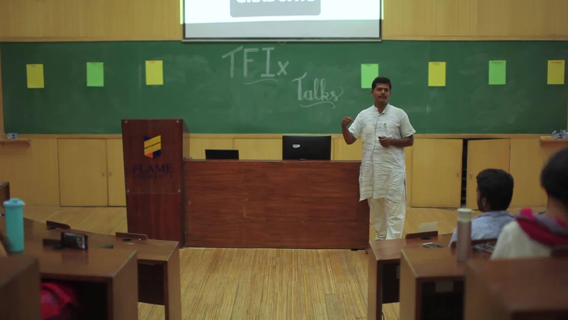 TFIx Talk - Vinayak