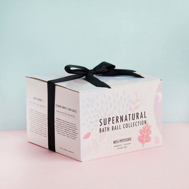 Supernatural gift box design