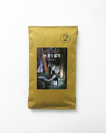 'Into the Dark' chocolate packaging