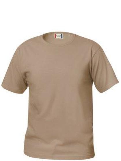 T-skjorte med Føl Norge logo (Beige)