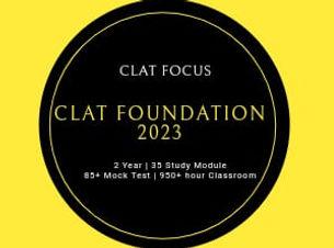 clat focus Foundation Course