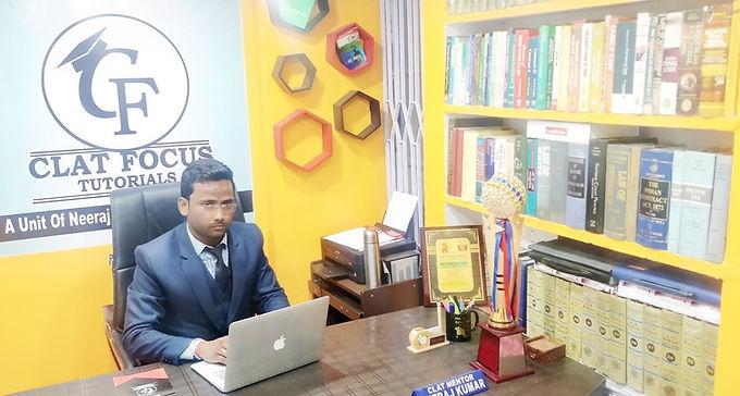 CLAT Mentor Neeraj Kumar