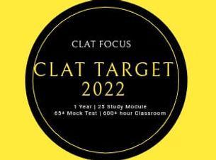 CLAT FOCUS Target Course
