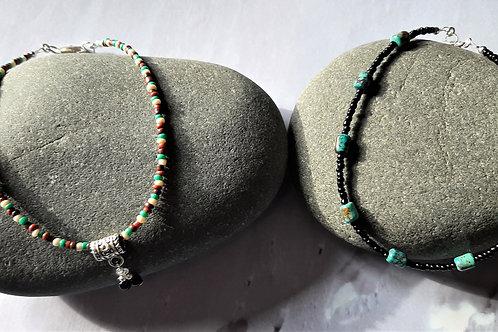 Ankle Bracelets - Set of 2