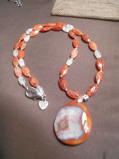 Mexican Agate Necklace